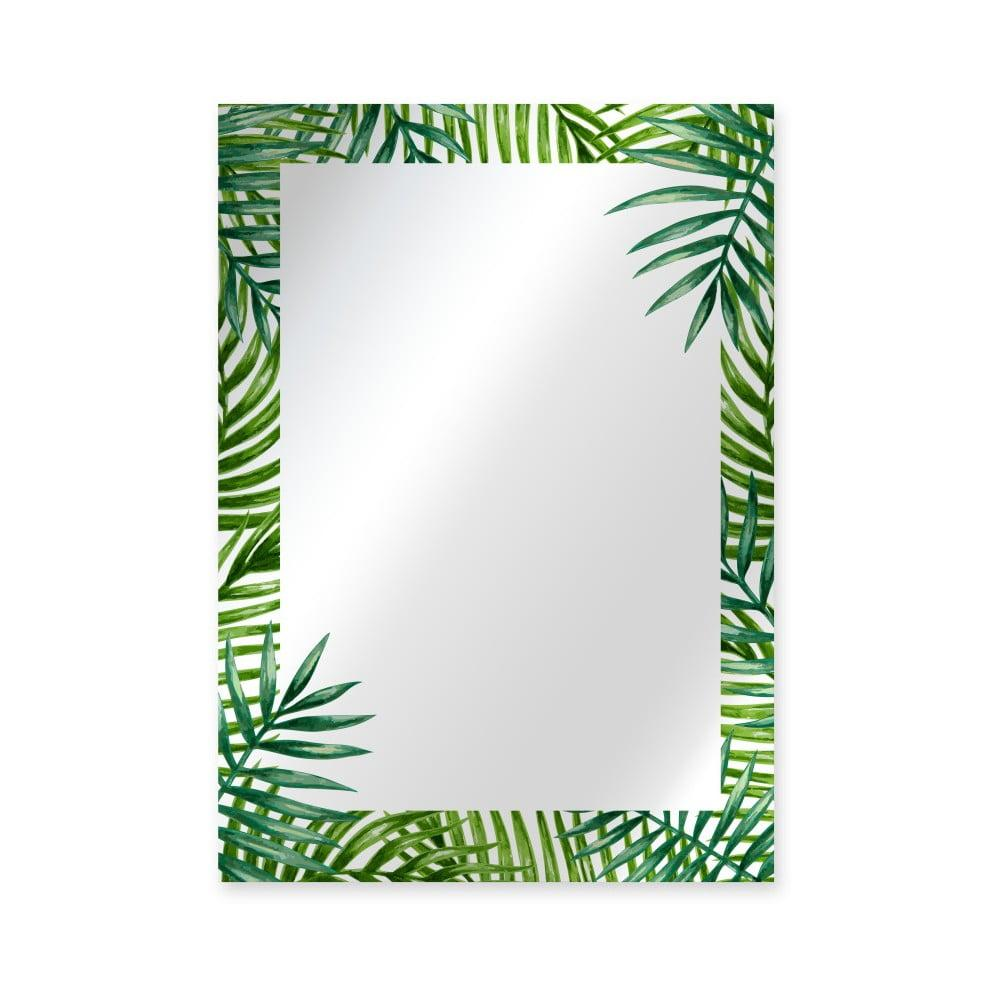 Nástenné zrkadlo Surdic Espejo Decorado Monstera, 50 × 70 cm