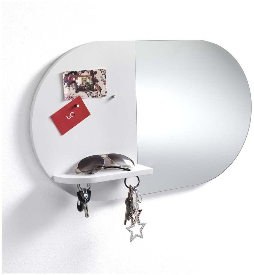 Nástenný magnetizovaný panel s rámom na 2 fotografie Tomasucci Reminder, 36 × 60 × 9 cm