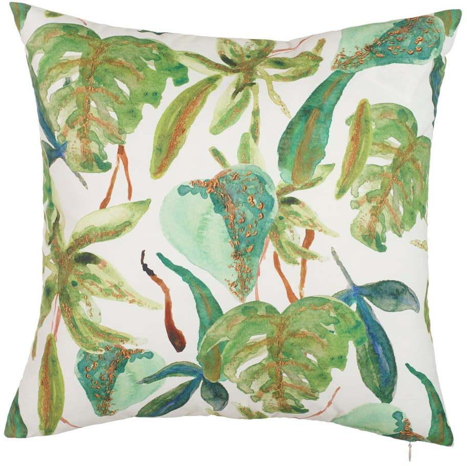 Obliečka na vankúš Mike & Co. NEW YORK Leafy Paradiso, 43 × 43 cm