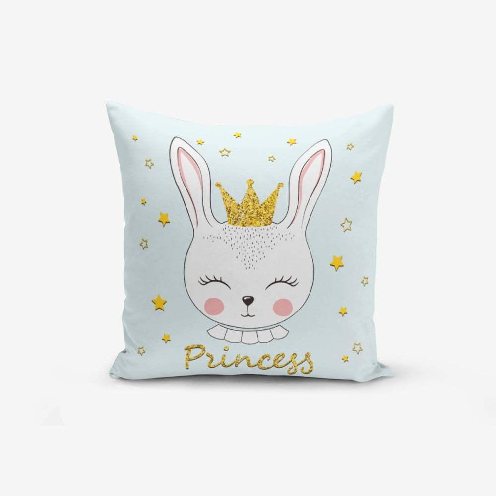Obliečka na vankúš s prímesou bavlny Minimalist Cushion Covers Princess Rabbit, 45 × 45 cm