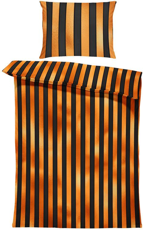 Obliečky Halloween stripes (Rozmer: 1x150/200 + 1x60/50)