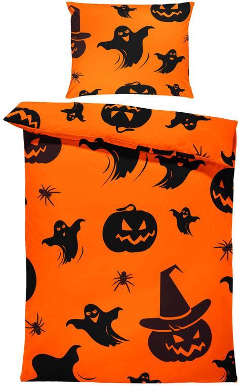 Obliečky Halloween vzor 2 (Rozmer: 1x150/200 + 1x60/50)