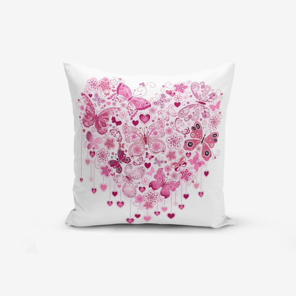 Obliečky na vaknúš s prímesou bavlny Minimalist Cushion Covers Hearty, 45 × 45 cm