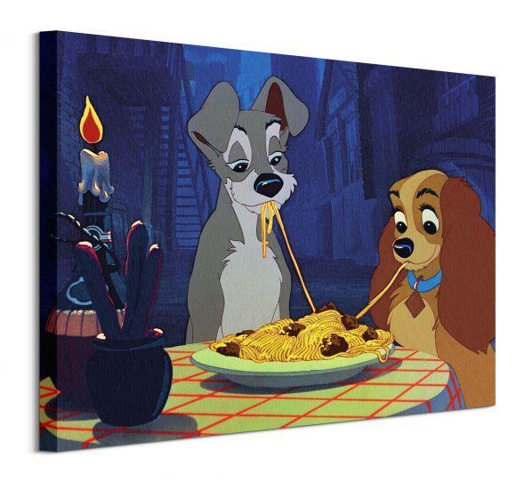 Obraz na plátne Disney Zamilovaný psík Tramp 50x40cm WDC94397
