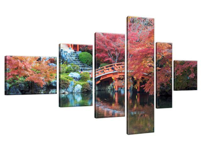 Obraz na plátne Farebná krajina v Japonsku 180x100cm 2129A_6E