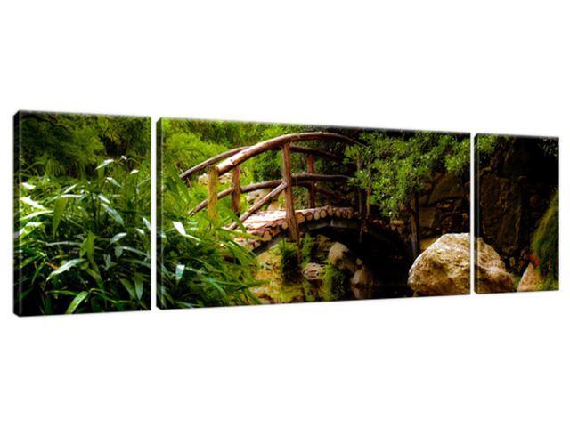 Obraz na plátne Japonská záhrada 170x50cm 2336A_3G