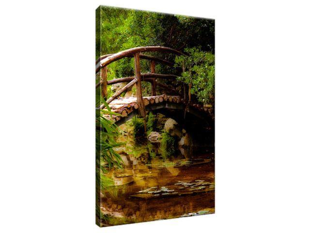 Obraz na plátne Japonská záhrada 20x30cm 2336A_1S