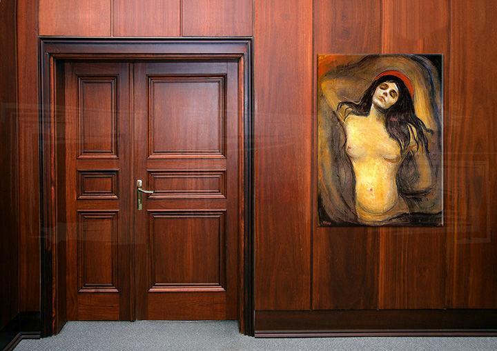 Obraz na plátne MADONNA - EdvardMunch  REP102