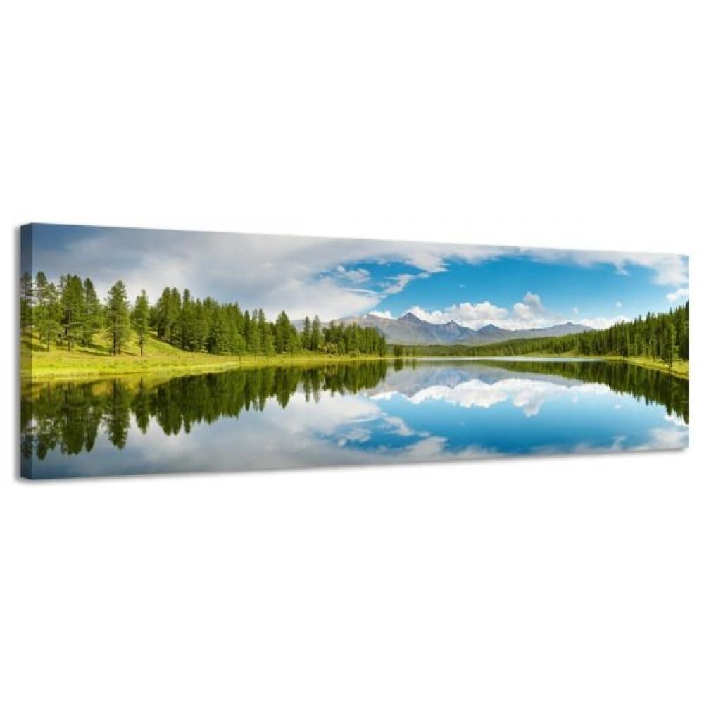 Obraz na plátne Panoráma, MOUNTAINS, 118x36cm