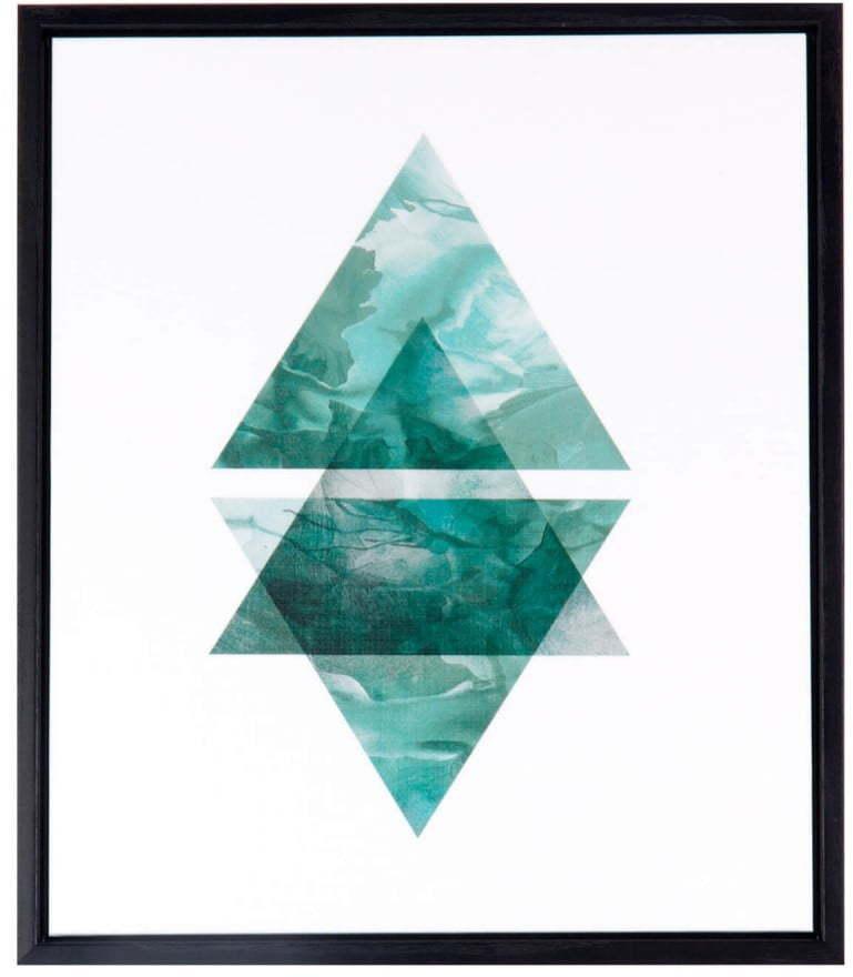 Obraz sømcasa Triangulos, 25 × 30 cm