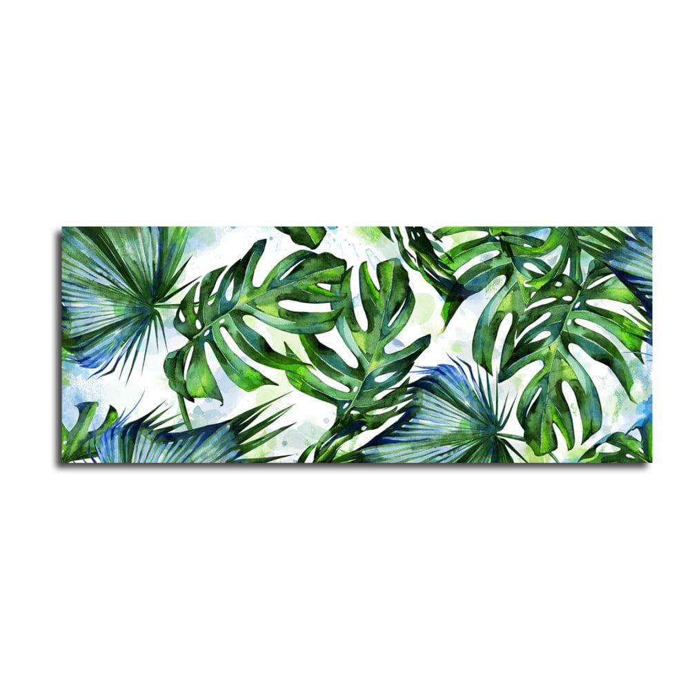 Obraz Styler Canvas Greenery Tropical, 60 × 150 cm