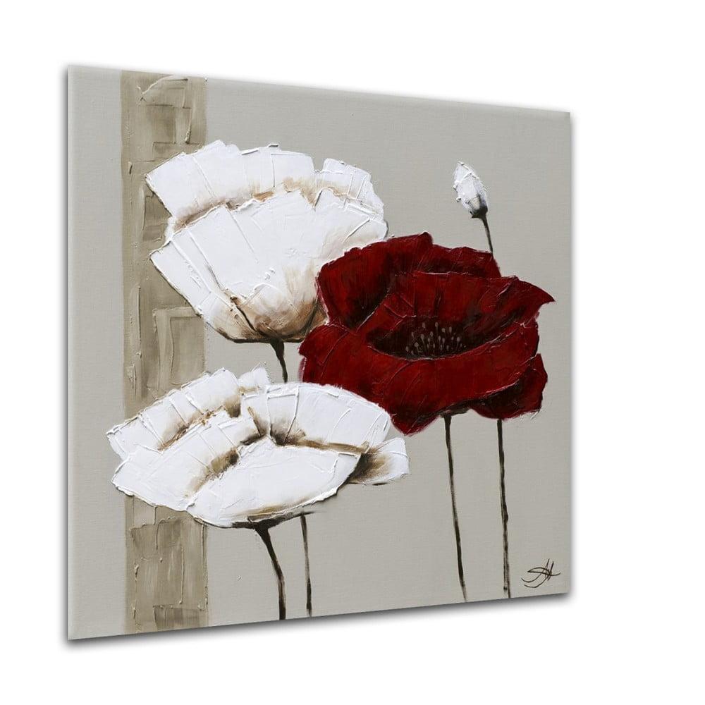 Obraz Styler Glasspik Flower June, 20 × 20 cm