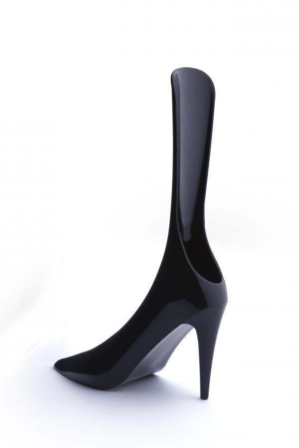 Obuvák na topánky Qualy Cindy, čierna