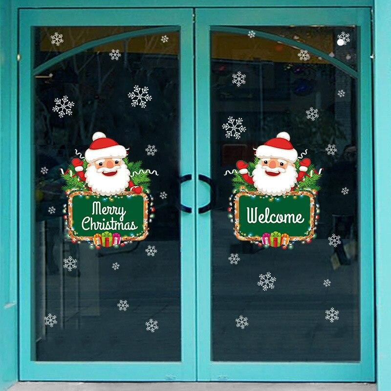 Okenné samolepky vianočný Varianta: 1