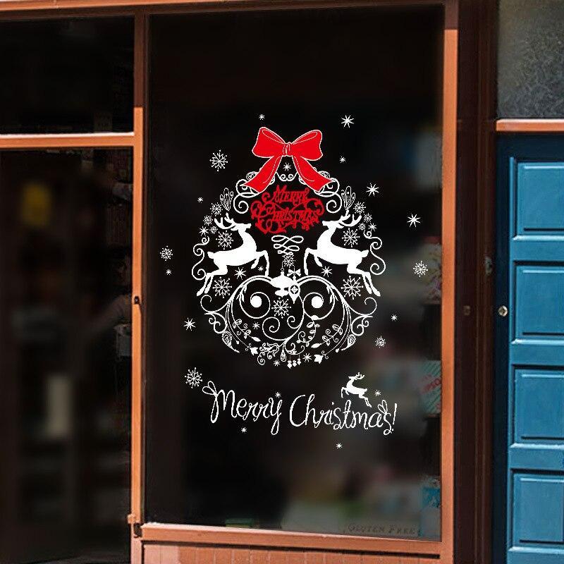 Okenné samolepky vianočný Varianta: 4