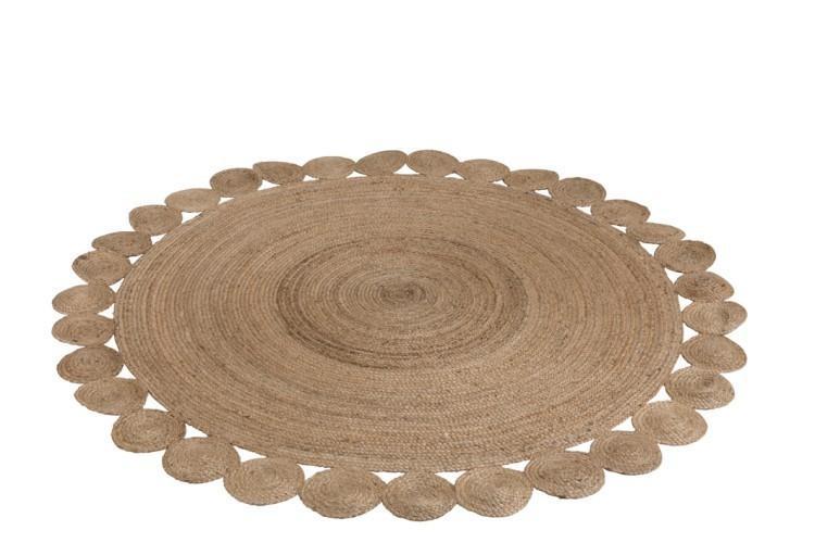 Okrúhly koberec Oriental jutový - Ø220 cm