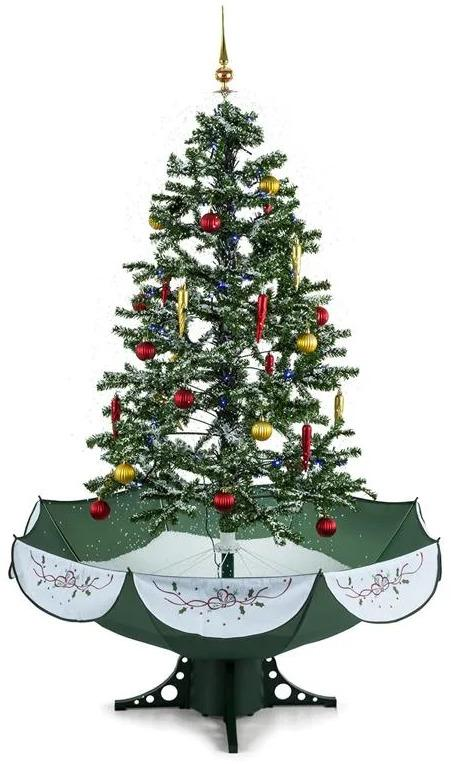 OneConcept Everwhite-GR, 180 cm, zelená, vianočný stromček, simulácia sneženia