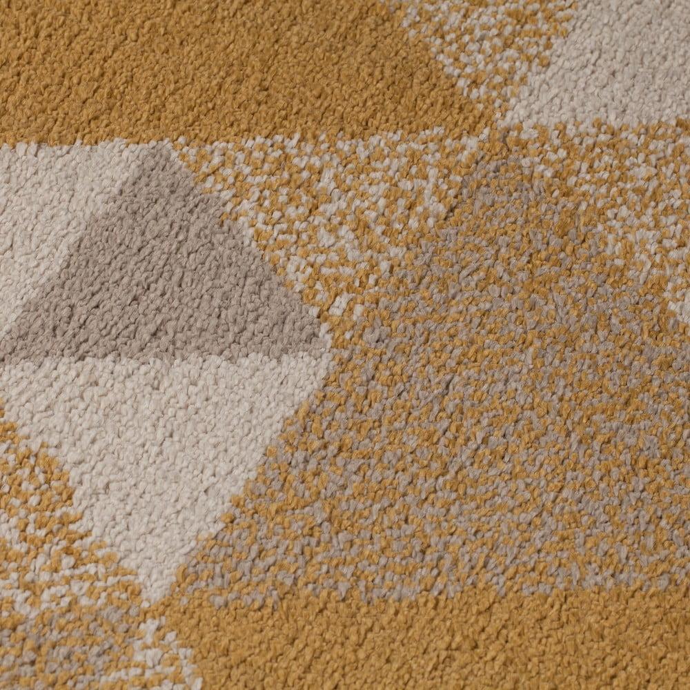 Oranžovo-béžový koberec Flair Rugs Nuru, 160 × 230 cm