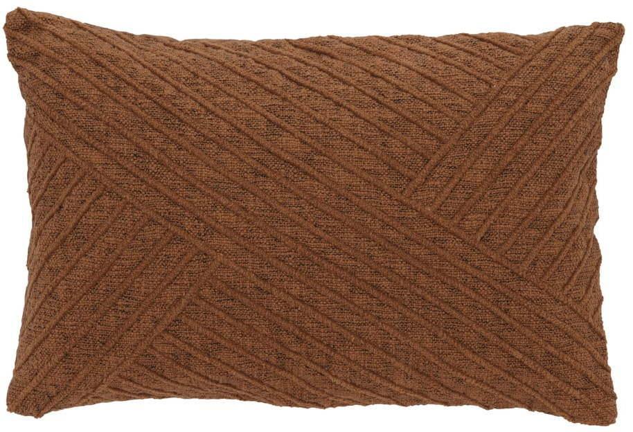 Oranžový bavlnený vankúš Södahl Amanda, 40 x 60 cm