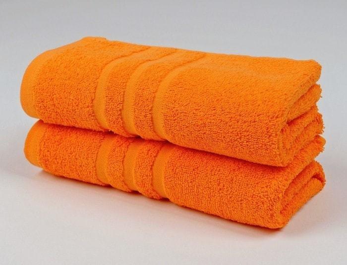 Osuška froté 70x140cm- CLASSIC- oranžová