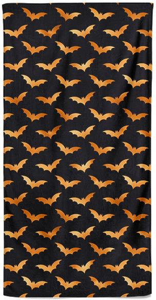 Osuška Halloween bats