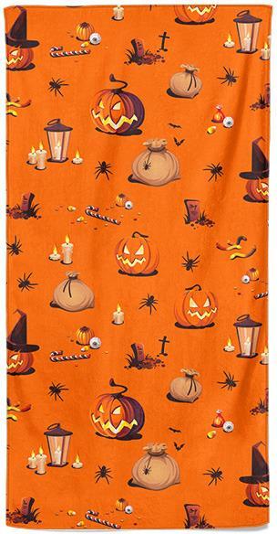Osuška Halloween vzor 1
