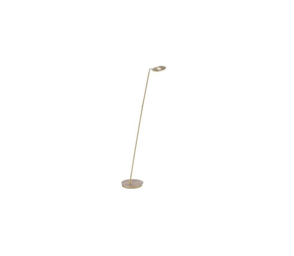 Paul Neuhaus 676-60 - LED Stmievateľná stojacia lampa MARTIN LED/13,5W/230V mosadz