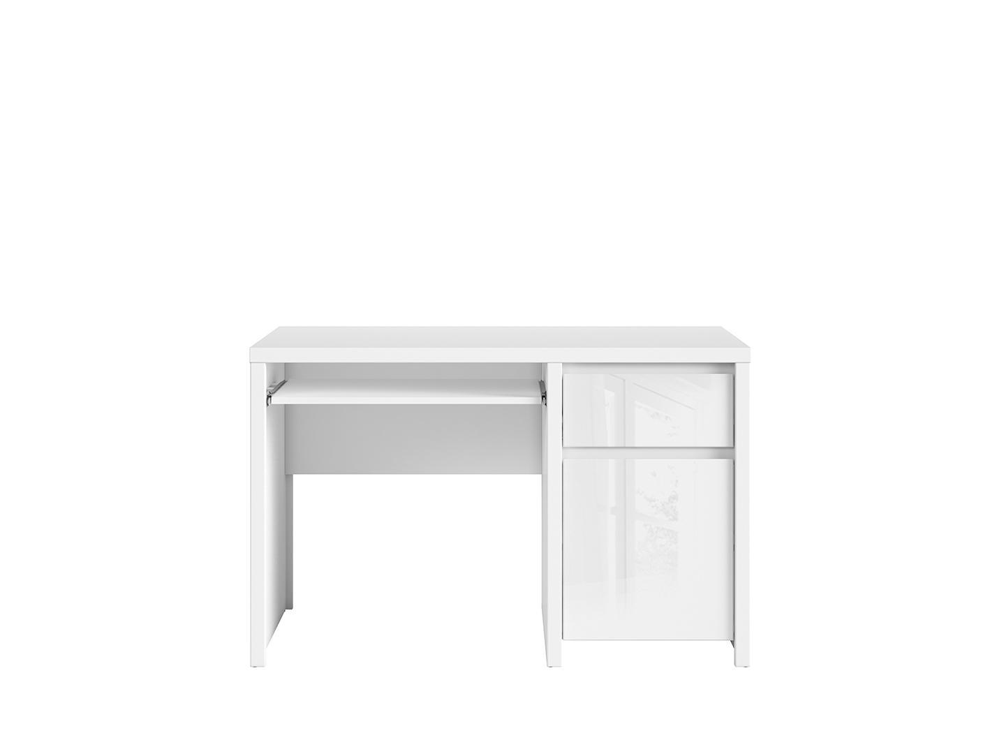 PC stolík - BRW - Kaspian - BIU1D1S/120 (biela + lesk biely). Sme autorizovaný predajca Black Red White.