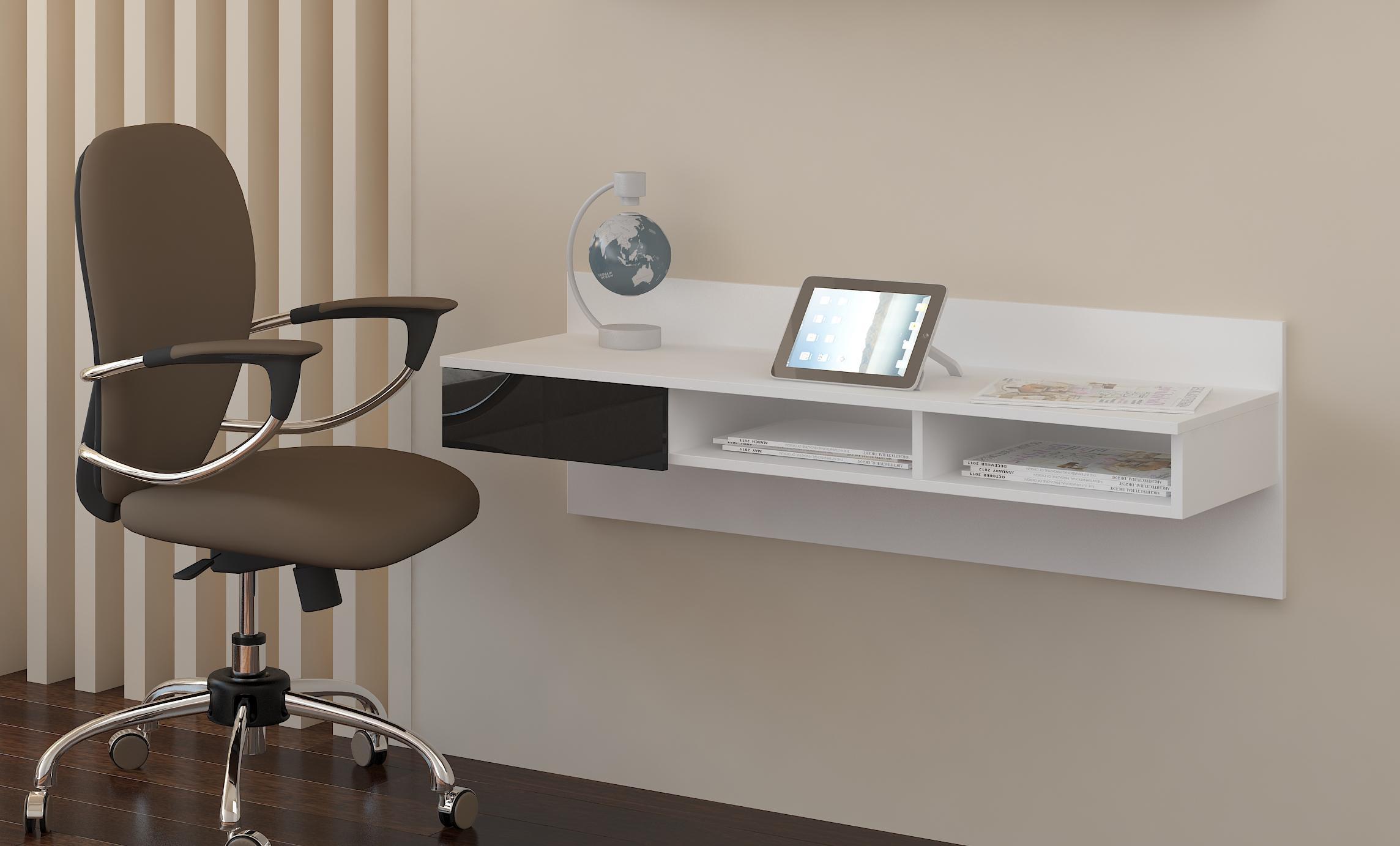 PC stolík - WIP - Uno biela + lesk čierny. Sme autorizovaný predajca WIP.