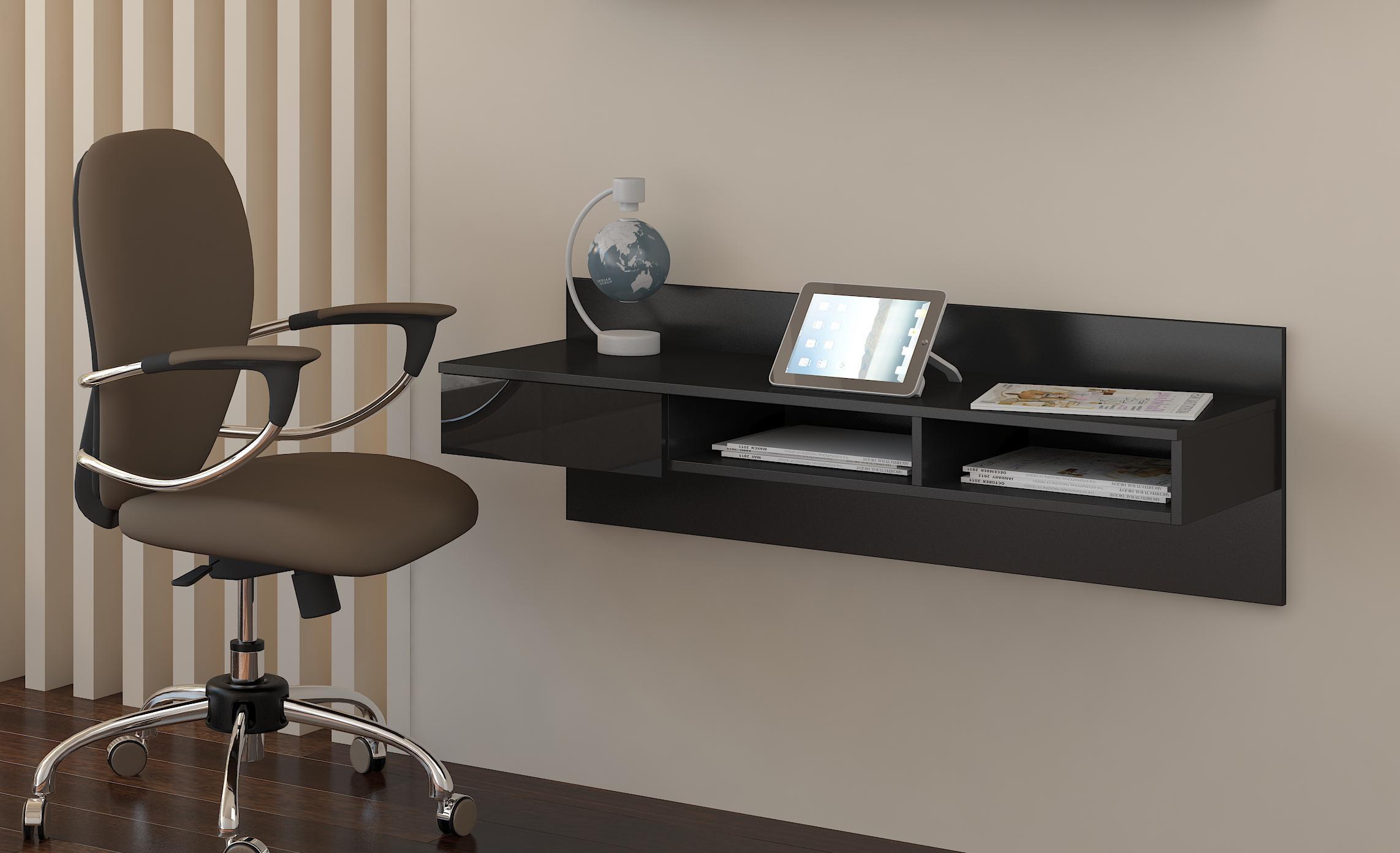 PC stolík - WIP - Uno čierna + lesk čierny. Sme autorizovaný predajca WIP.