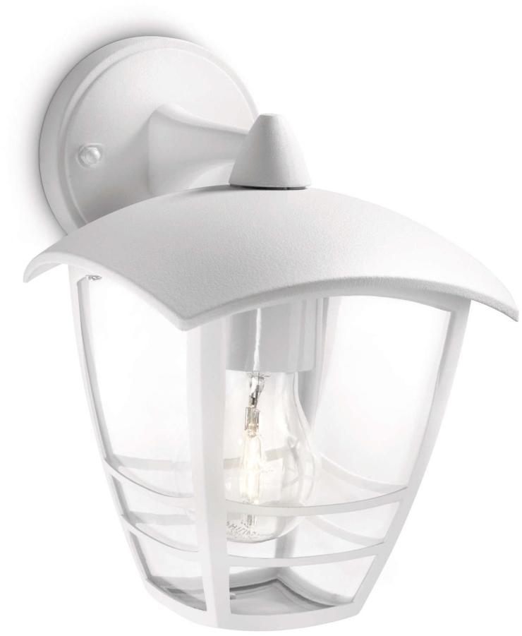 Philips 15381/31/16 - Vonkajšie nástenné svietidlo CREEK 1xE27/60W/230V IP44