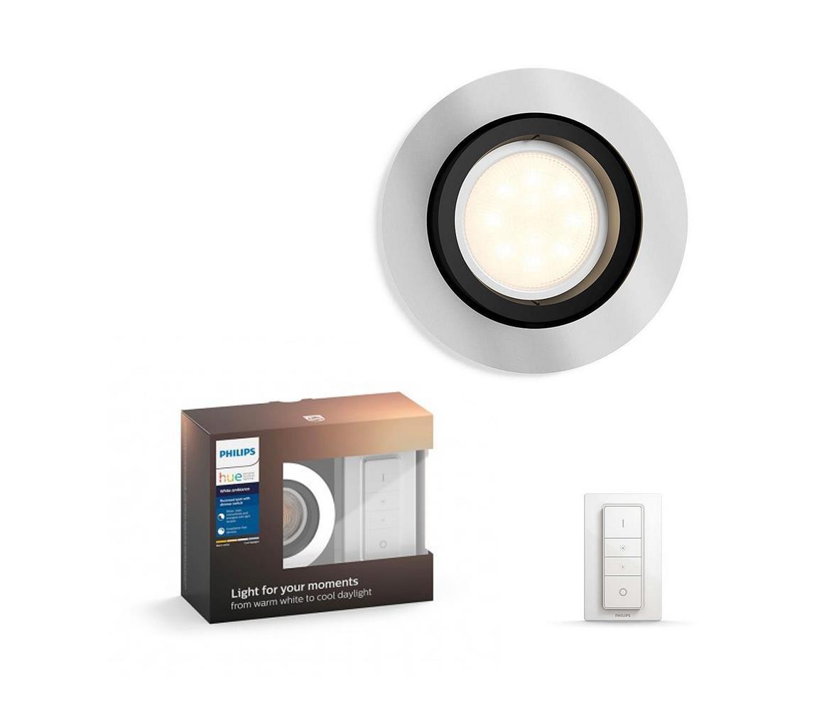 Philips 50411/48/P7 - LED Stmievateľné svietidlo Hue MILLISKIN 1xGU10/5,5W/230V