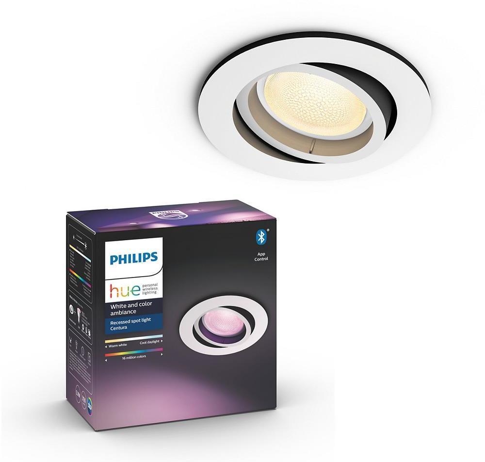 Philips 50451/31/P7 - LED RGB Podhľadové svietidlo CENTURA 1xGU10/5,7W/230V