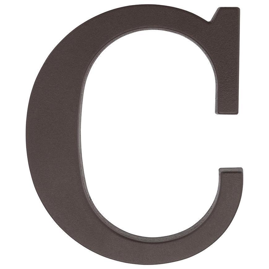Písmeno C hnedé 9 cm