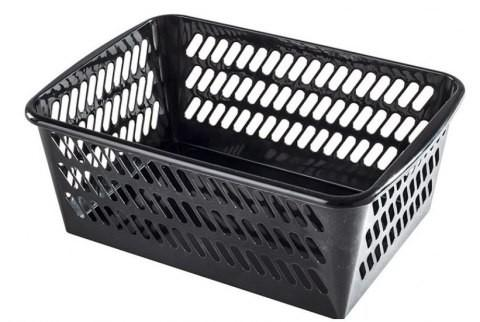 PLAST TEAM - Košík MIDI čierny