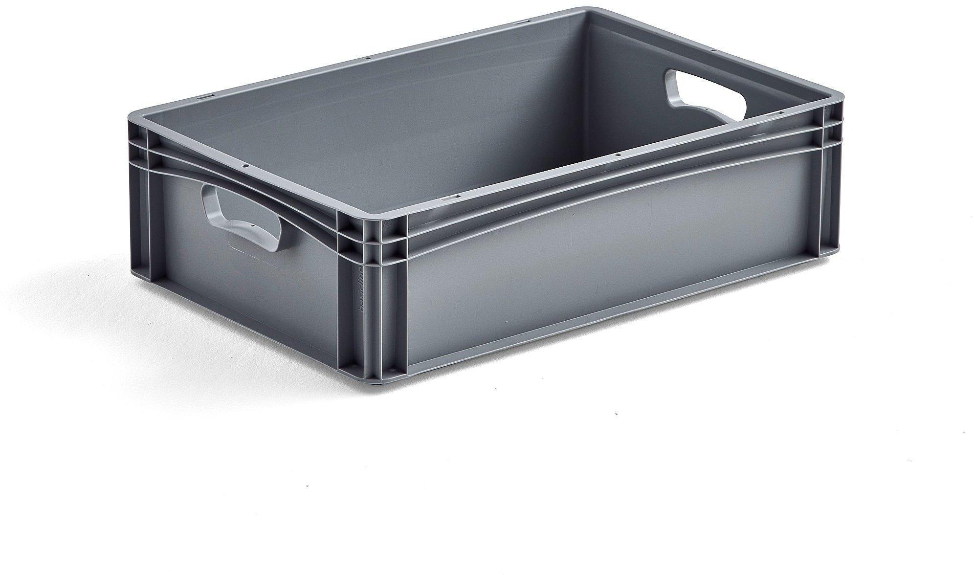Plastová prepravka AJ EURO, 32 L, 600x400x170 mm