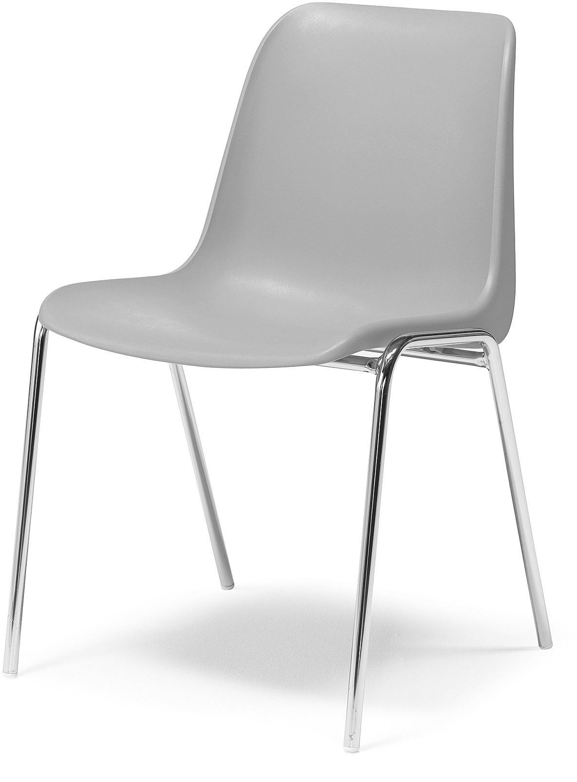 Plastová stolička Sierra, šedá