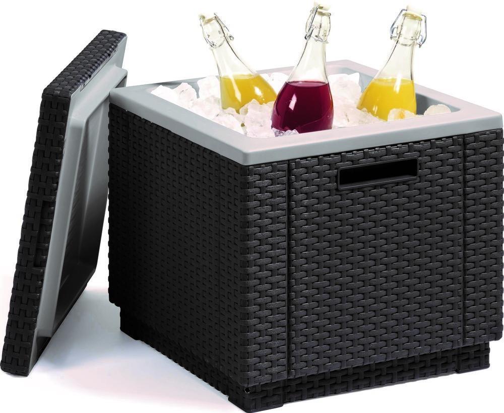 Plastový box - ICE CUBE - grafit