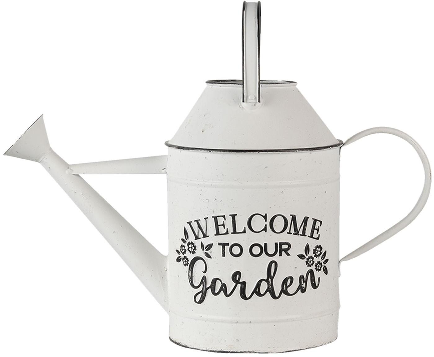 Plechová retro dekorační kanva Garden - 49*18*37 cm