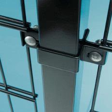 Plotový panel 2D 8/6/8mm antracit Plotový panel 2D - 8/6/8mm antracit, 1430 x 2500 / 200 x 50 mm