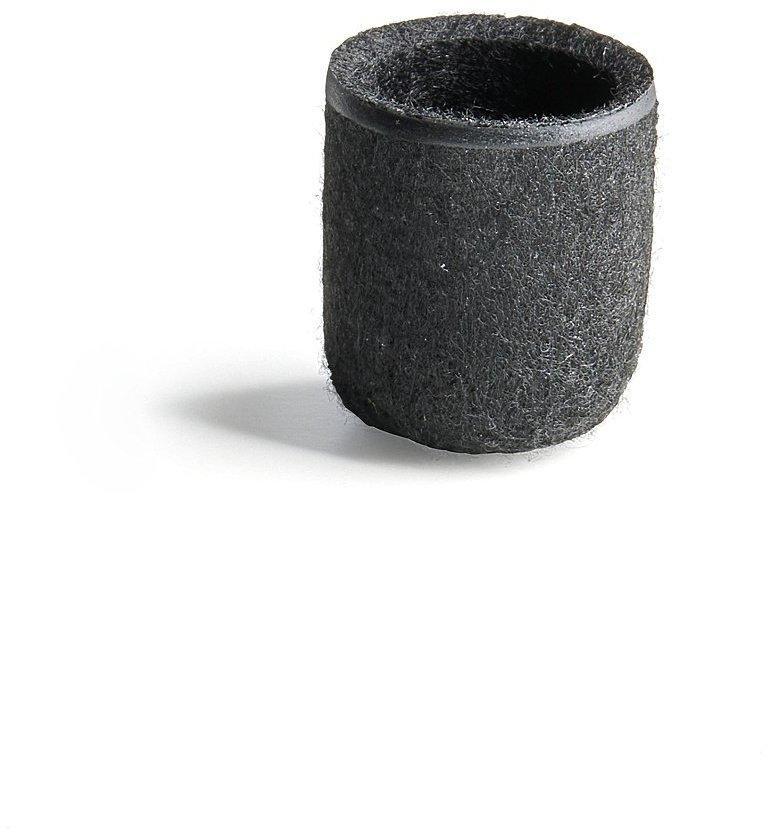 Plstená nožička, Ø 16 mm, čierna