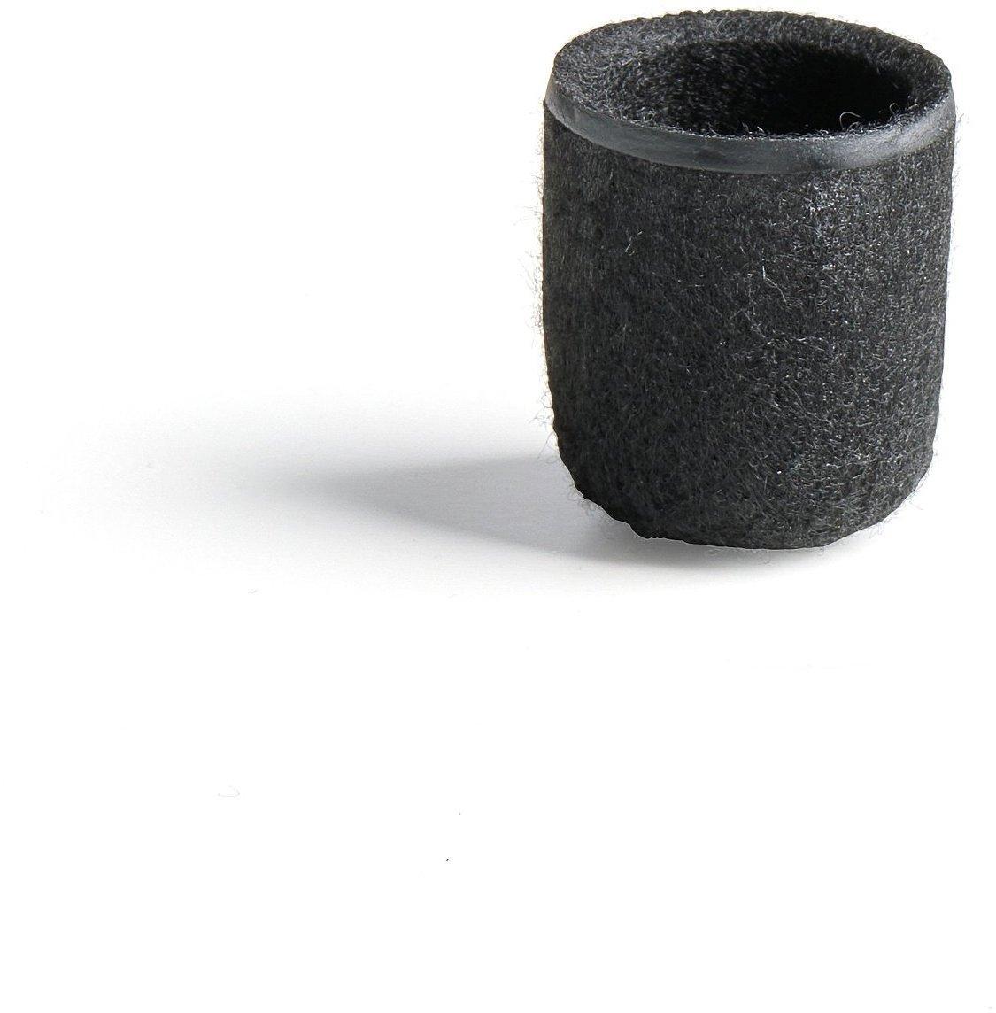 Plstená nožička, Ø 22 mm, čierna