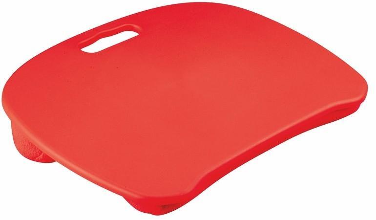 Podložka pod notebook B/28 látka / plast Halmar Červená