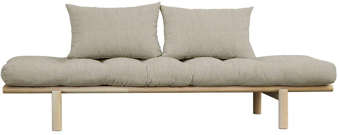 Pohovka Pace Daybed – Clear lacquered/Linen