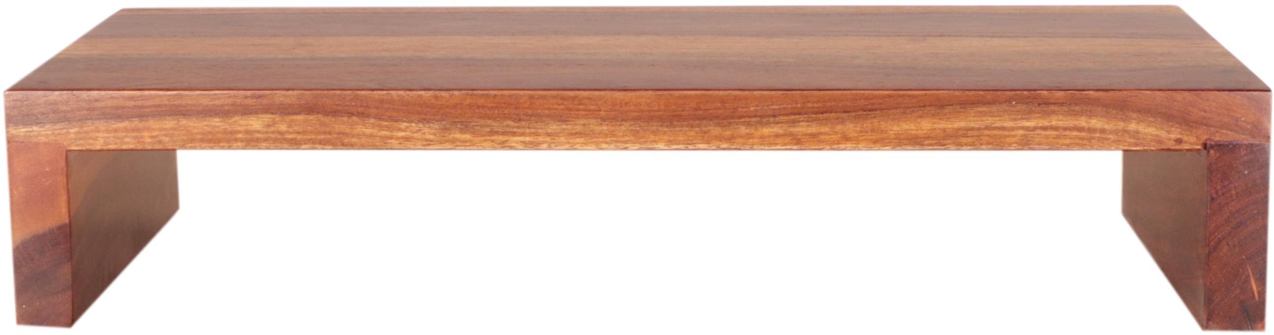 Polica na stenu Jali 50x22x10 indický masív palisander - Svetlomedová
