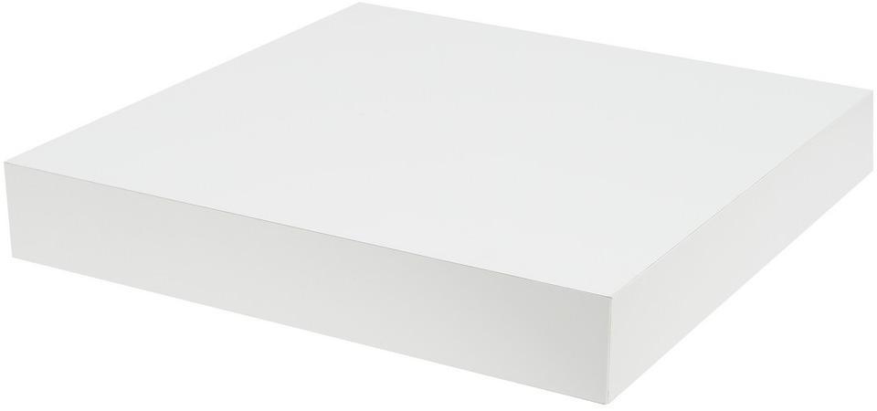 Polica na stenu Wilma 23,5 cm, biela