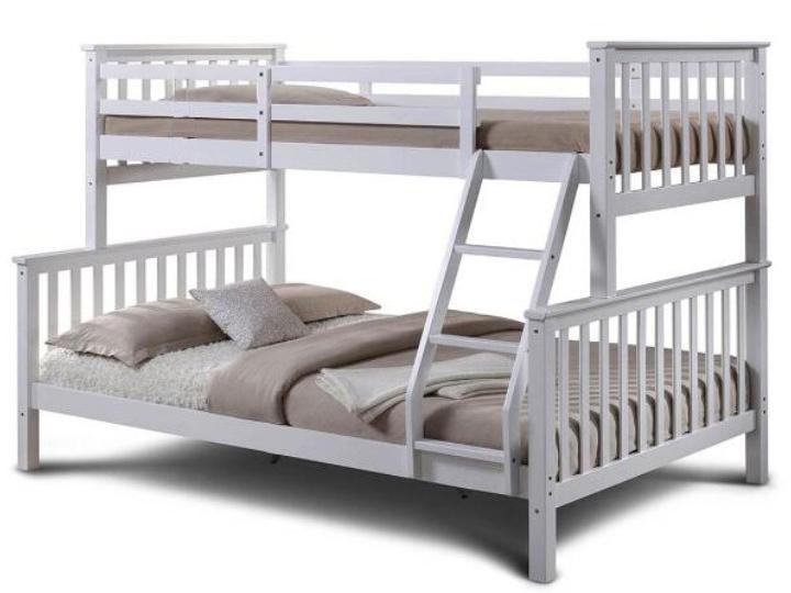 Poschodová posteľ 90 cm Bagira (s roštom)