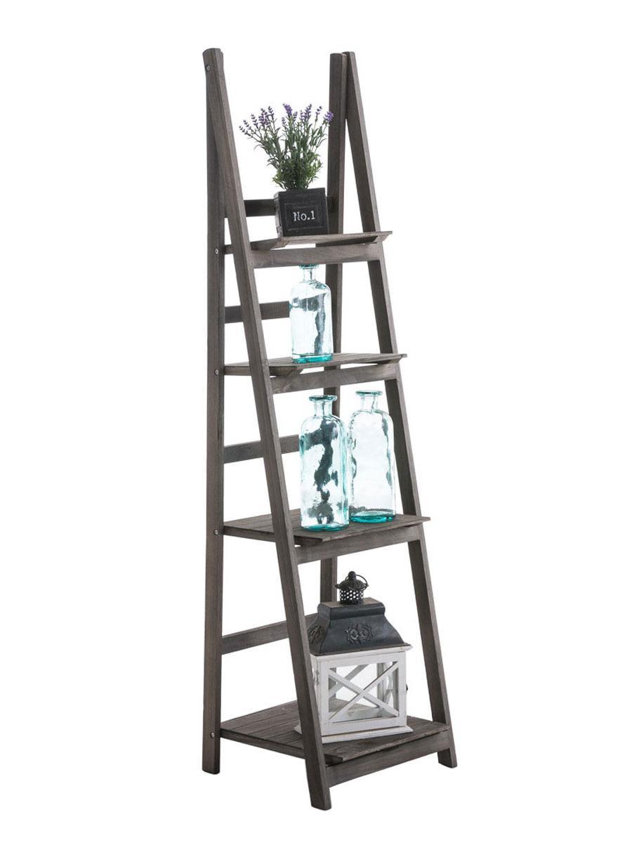 Poschodový regál Talma, 153 cm, svetlohnedá