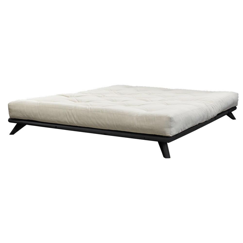 Posteľ Karup Design Senza Bed Black, 140×200 cm