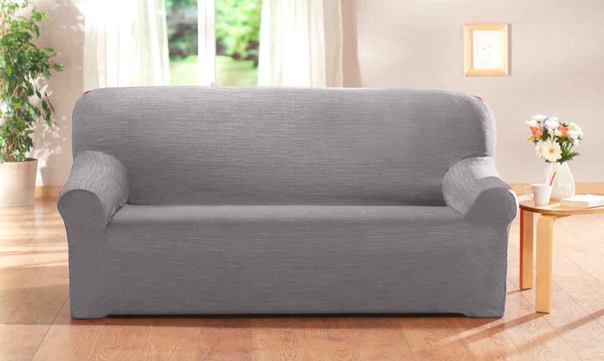 Poťah na sedaciu súpravu, perlovosivá Barva: perlovosivá, Velikost: 3miestna pohovka